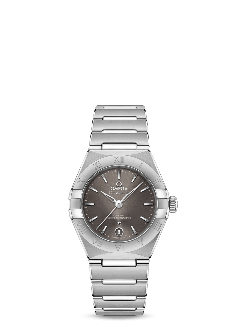 Steel on steel CONSTELLATION MANHATTAN OMEGA CO‑AXIAL MASTER CHRONOMETER 29 MM