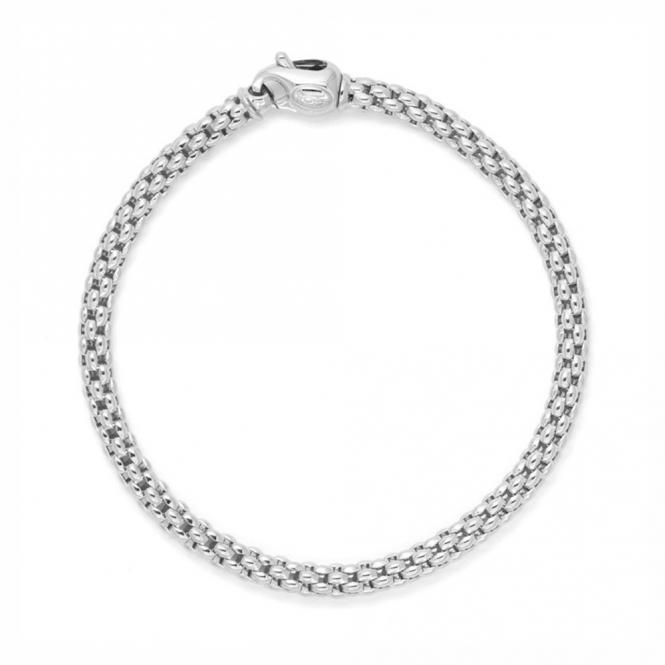 Fope Unica 18ct White Gold Bracelet