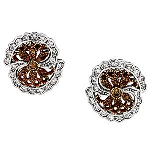 Chocolate Diamond Earrings